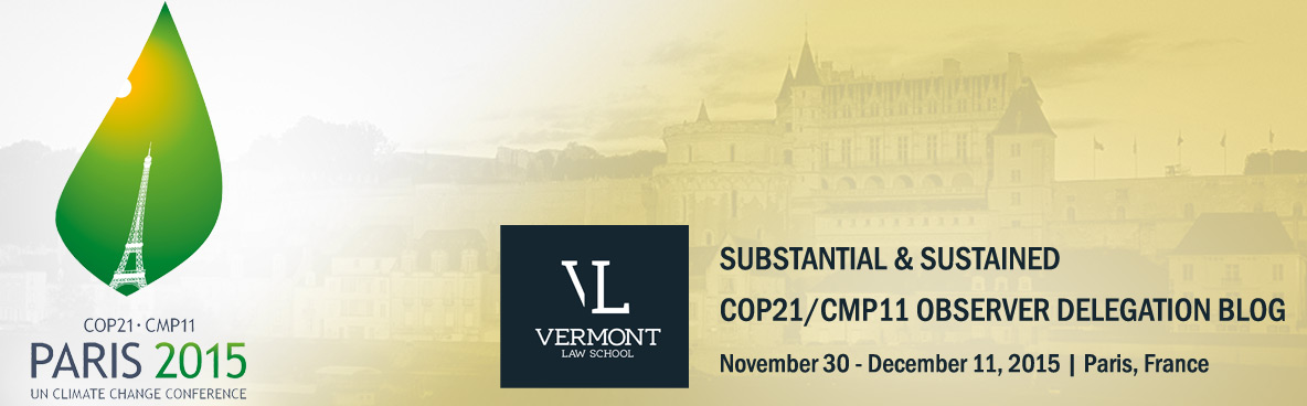 COP21: The Agreement and Commentary by Vermont Law School